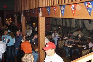 "The Bar, Olde Main Brewing Co & Restaurant, Ames — Meet your friends in the PUB at Olde Main!  Featuring a daily ""Happy Hour"" from 4pm-6pm and nightly drink specials.  The PUB also is host to live music events.  Check our website for upcoming show dates.  www.oldemainbrewing.com