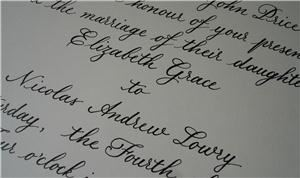 Belles Lettres Calligraphy, Brookside