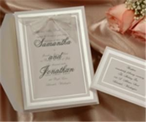 You're The Bride - Invitations - Cincinnati, Cincinnati — Traditional Birchcraft invitation for your wedding! 40% off!