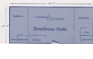 Penthouse, Washington Suites Alexandria, Alexandria