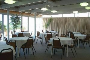 Solarium, Tamarack Beach Resort & Hotel, Carlsbad — Casual Seating set up.  We can also set up Boardroom, Classroom, U shape etc.