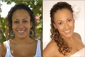 GS Makeup Artistry - Fort Lauderdale, Fort Lauderdale — Before and After Bridal