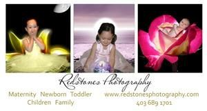 RedStones Photography, Calgary — RedStones Photography specializes in maternity, baby, and family portraits.  We serve Calgary with our relaxed and contemporary approach to portraiture.  You keep all the session digital negatives.