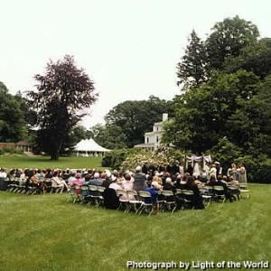 Wedding Area, Lyman Estate, Waltham