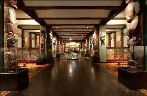 Hall of Northwest Coast Indians, American Museum of Natural History, New York