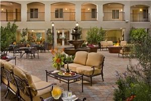 Courtyard/Atrium, Ayres Hotel & Spa Mission Viejo, Mission Viejo — Our gorgeous outdoor courtyard atrium is the perfect complement to any event.