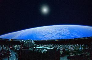 The Hayden Planetarium Space Theater, American Museum of Natural History, New York