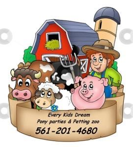 Every Kids Dream Pony Party and Petting Zoo, Loxahatchee