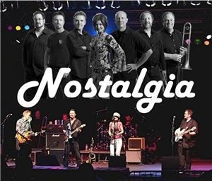 "Nostalgia Band - Chicago, Chicago — Nostalgia is a seven-piece variety band based in Fort Wayne, IN featuring dynamic female and male lead vocals and a three-piece horn section. Very professional and entertaining, Nostalgia can always be guaranteed to ""Get the Party Started""!"