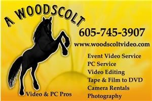 A. Woodscolt Video & PC Pros, Hot Springs — When the owners of Woodscolt Video first came to the Black Hills in 2005 as a small, all-event video camera service, they had no idea how much more need the area had for their digital entertainment and media capabilities.
