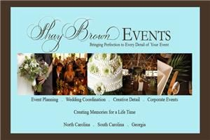 Shay Brown Events - Greenville, Greenville — Shay Brown Events is the premier wedding & event design company, located in the beautiful mountains of Asheville, North Carolina; serving North Carolina, South Carolina and Georgia.   We focus directly on the quality of service that we provide our client.  Our gracious professional team will listen to you and tailor your wedding or event to include every detail of your vision.  Creating  the most exquisite event you have ever dreamed of, while keeping your budget and vision in mind.  Shay Brown Events is devoted to making your wedding & event become a reality.  Our knowledgeable event experts will go above and beyond to provide our client with inspired design and excellent service.