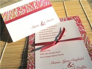 Dogwood Blossom Stationery & Invitation Studio, LLC, Cocoa — We specialize in invitations filled with color, embellishment, and dimension.