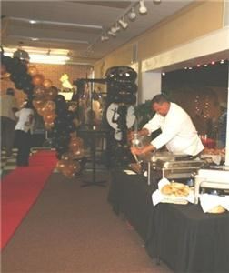 Baltimores Best Events LLC, Towson — We offer a fully equipped banquet hall at CONFETTI'S Event Center, which comfortably seats up to 150 guests and features ample free parking, kitchen, tables, chairs, dance floor and a stage. In addition to providing our venue, we specialize in offering the following services: