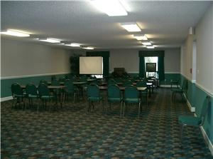 Large Meeting Room, America's Best Inn & Suites, Foley — Large 1475 sq ft meeting space.  Off Site Catering available upon request