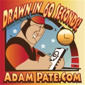 60 Second Caricatures By Adam Pate/Custom Drawn Studio, Cleveland