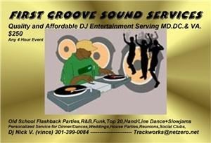 first groove sound services, Brandywine — FIRST GROOVE SOUND SERVICES