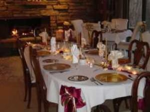 Dining Room, The Inn At Bella Vista, Bella Vista — The Inn's dining room looks out over the hills of Bella Vista. 