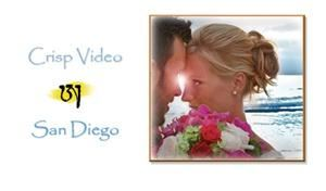 Crisp Video & DJ, San Diego — Elegant and fun, your wedding video will be created by artists who care about their work. We are courteous, unobtrusive, and our rates are very reasonable. Let us help guide your Dream Day to it's highest level.