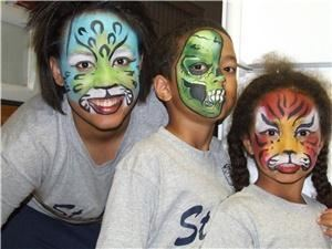 Hennawi House Body Art, Pensacola — Face Painting
