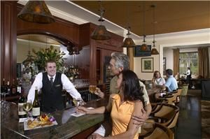 Clubhouse, Deering Bay Yacht & Country Club, Miami — Our bustling bar area.
