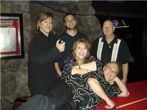 the big zephyr party band - San Diego, San Diego — the big zephyr: brian, larry, randi, bill, mike