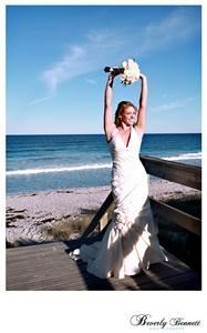 BeverlyBennettPhotography.com, Melbourne Beach — Beach weddings are always fun and the colors are amazing!