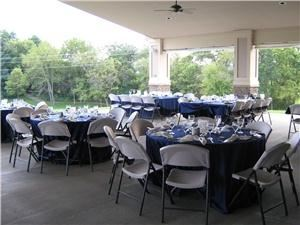 Outdoor Covered Patio, Copper Creek Golf Club and Event Center, Des Moines