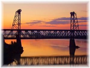 The Meridan Bridge, Riverfront Event Center, Yankton