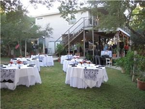 Robin's Nest Bed And Breakfast, Austin — Beautiful weddings on the lakefront,Family Reunions,