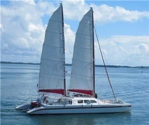 Spirit Catamaran Charters, Tropical Sailing, Fort Lauderdale — Caribbean Spirit Catamaran US Coast Guard Certified to accommodate up to 125 Guests. Available from Miami, Fort Lauderdale, Palm Beach and the Florida Keys
