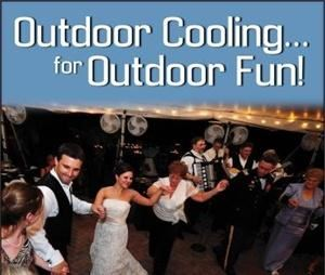 All-Mist Outdoor Event Cooling
