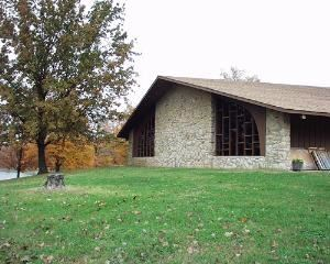 Tabernacle, Lake Doniphan Conference & Retreat Center, Excelsior Springs — Tabernacle Front