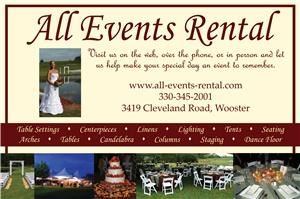 All Events Rental, Wooster