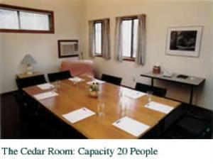 The Cedar Room, Essex Conference Center & Retreat, Essex