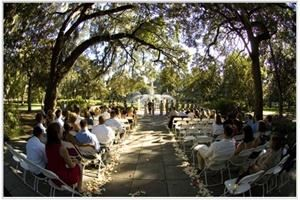 A Celebration & More, Savannah — Spring Wedding at one of the beautiful spots in Forsyth Park, Historic Savannah.