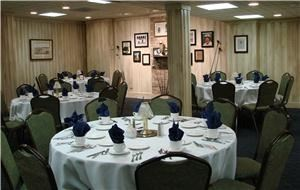Patty Berg Room, St Andrews Golf & Country Club, West Chicago — Located on the lower level, the Patty Berg Room Accommodates up to 70 guests and is ideal for small business meetings. Banquet minimum: 30 adults.