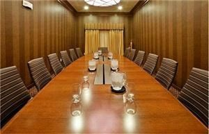 Boardroom, Holiday Inn & Suites McKinney, McKinney — Boardroom is ideal for private meetings of up to 14.
