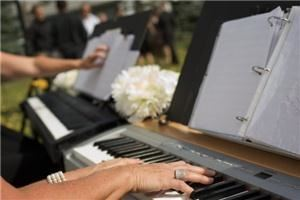 Occasional Notes, Calgary — Occasional Notes is a Calgary based piano duo that performs for Wedding Ceremonies, cocktail hours and corporate events.  Occasional Notes arrives at your chosen venue complete with two pianos and a professional sound system.  Occasional Notes will ensure that your playlist is perfectly executed and unique to your dream day.