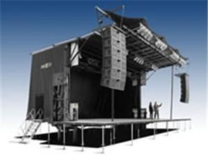Wizdom Audio Visual, White Plains — New Portable Staging for Live events.