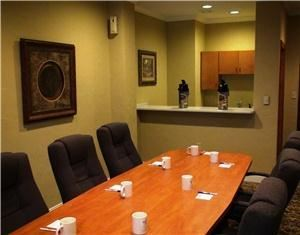 Board Room, Holiday Inn Express Hotel & Suites Greenville, Greenville — Board Room With Kitchenette