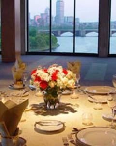 Skyline Room, Museum of Science, Boston, Boston — The Skyline Room is one of Boston's most beautiful and unique venues. Two walls of floor to ceiling windows overlooking the Boston Skyline and Charles River, make for a view and event your guests are not likely to forget.