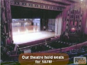 The Main Theater, Scranton Cultural Center, Scranton — Our Theater Holds Seats For 1876