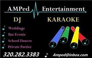 Amped Entertainment, Clearwater — For any event call Amped Entertainment.  We make your event memorable with the right combination of music, lights, karaoke, and props.  Contact Amped today to discuss your event or schedule an appointment.