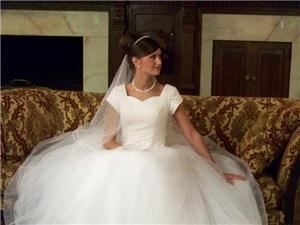 Chatfields Bridal Boutique, Valley Park — A St. Louis Bridal shop featuring Modest Wedding Dresses