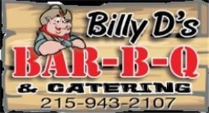 Billy D's Bar-B-Q, Levittown — Logo