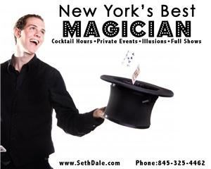 Seth Dale - The Charming Magician, Montclair