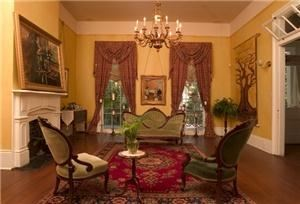 Parlor, Degas House, New Orleans