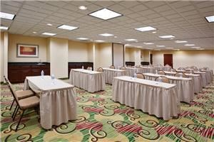 Portage Room, Holiday Inn Express Hotel & Suites Cleveland-Streetsboro, Streetsboro — Classroom setup for 24