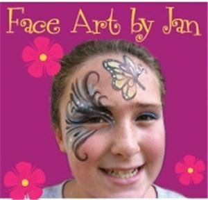Face Art by Jan Face Painting for parties, Caldwell — Professional high quality face painting for corporate events & parties. Please see our web site & email us or call for quote on face painting for your party.