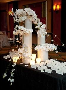 A Particular Event, Houston — White Wedding- Card Table